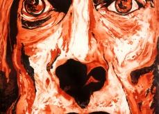Iggy Pop, 2010, gravure Aquatinte sur papier arche, 75X105 cm, 2010, édition limitée.