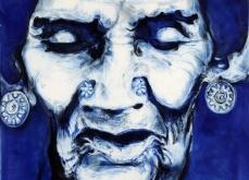 kotakupam, 2008, pastel sur papier, 130X130 cm.