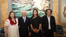Parution de presse de l'exposition «Du paysage à l'intime» Monaco, 2015.