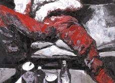 Blanck, 2007, huile sur toile 130X197 cm