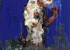 Télé-vision, 2005, huile sur toile, 97X162 cm.