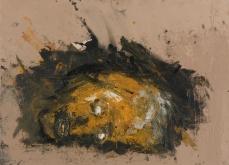 La terre, 2001, huile sur toile 50X70 cm. Collection privée.