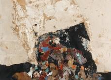 Carton, 2003, huile sur toile, 80X120 cm.