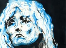 Blondie, 2010, gravure Aquatinte sur papier arche, 75X105 cm, 2010, édition limitée.