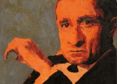 Cash, 2007, huile sur toile 150X150 cm, collection privée.