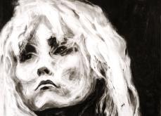Blondie, 2007, pastel sur papier, 130X130 cm.