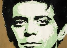 Lou reed, 2010, gravure Aquatinte sur papier arche, 75X105 cm, 2010, édition limitée.