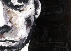 Nick Cave, 2007, huile sur toile 150X150 cm, collection privée.