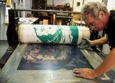 Collaboration avec Rémy Bucciali, édition d'estampes, 2008, Colmar.