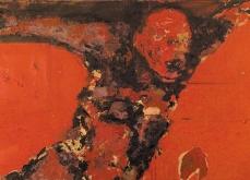 Chute de corps, 2002 huile sur toile, 97X162 cm. Collection privée.
