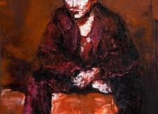 Johnny, huile sur toile 97X162 cm, collection privée.