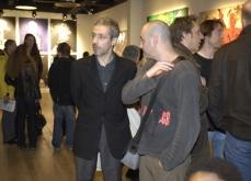 Vernissage de l'exposition, Made in India, Espace Univers, 2006, paris.