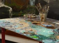 Vue de l'atelier, 2013, Atelier Manutan, Gonesse.