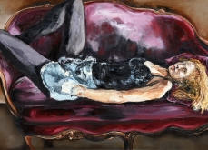 Timeless, 2013, huile sur toile, 130X197 cm.