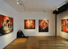 Baroque flesh, 2010, vue de l'exposition, galerie Polad Hardouin, Paris.