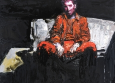 Vanishing act, 2010, huile sur toile, 150X195 cm, collection privée.