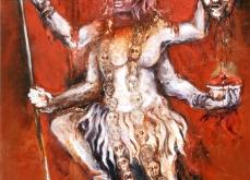 Kali, 2010, huile sur toile, 110X132 cm.