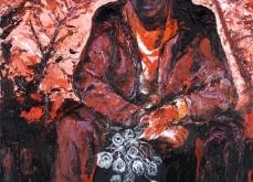 Hot rods, 2010, huile sur toile, 150X120 cm.