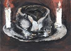 Sans titre, 2011, huile sur toile, 55X46,5cm, collection privée.