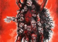 Kali, 2011, pastel sur papier, 57X76 cm.