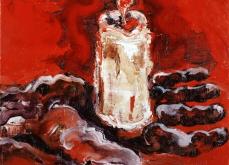 Lux I, 2010, huile sur toile, 30X30cm, collection privée.