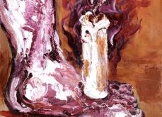 Lux III, 2010, huile sur toile, 30X30cm, collection privée.