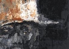Présence, 2010, huile sur toile, 30X30cm, collection privée.