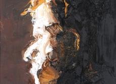 Présence II, 2010, huile sur toile, 30X30cm.
