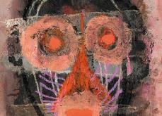 Regard bouche bée, huile sur papier, 30X40 cm. Collection privée.