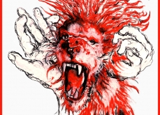 Scream, 2012, carré en soie, 90X90 cm, édition limitée.