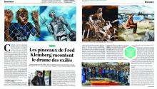 Parution de presse/ODYSSÉE- l'Humanité- Décembre 2017