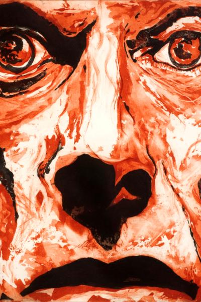 Iggy Pop, 2010, gravure Aquatinte sur papier arche, 75X105 cm, 2010, édition limitée