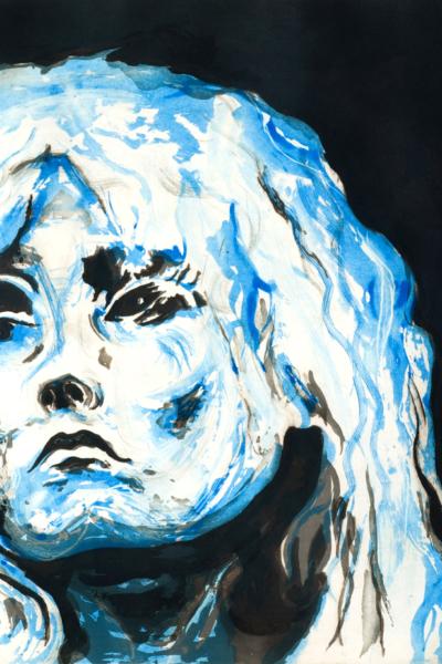 Blondie, 2010, gravure Aquatinte sur papier arche, 75X105 cm, 2010, édition limitée