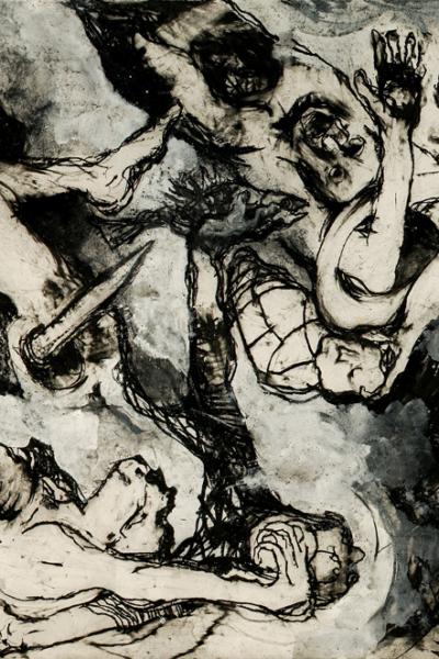 26/12/2004. Lithographie sur papier Arche, 55X76cm, 2004, édition limitée.