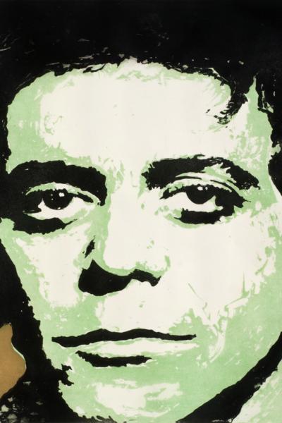 Lou reed, 2010, gravure Aquatinte sur papier arche, 75X105 cm, 2010, édition limitée