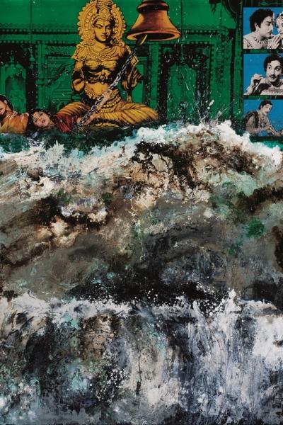 Tsunami, huile sur toile 230x200 cm, 2006. Collection privée.