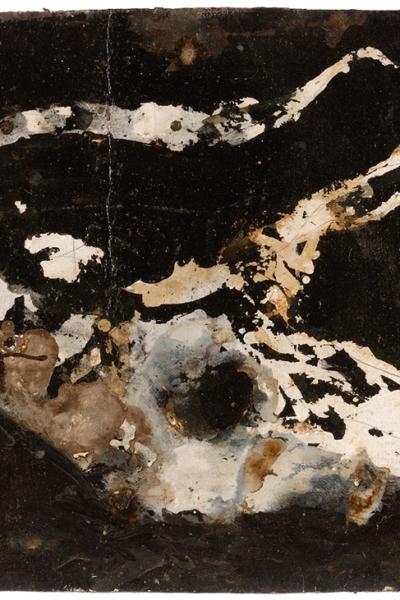 Vanité indienne, gomme arabique sur papier, 56x76 cm, 2006.