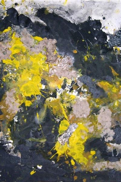 Chien, huile sur toile 100x73 cm, 2006. Collection privée.