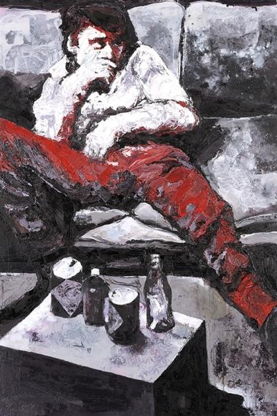 Blanck, huile sur toile 130x197cm, 2007