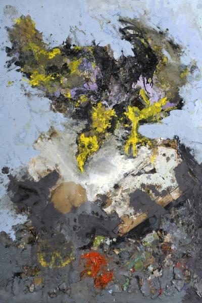 Rapace, huile sur toile 100x73 cm, 2006. Collection privée.