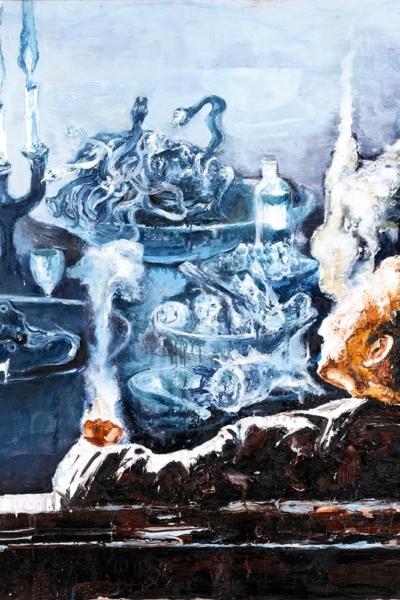 Vitriol, huile sur toile, 150x150 cm, 2011