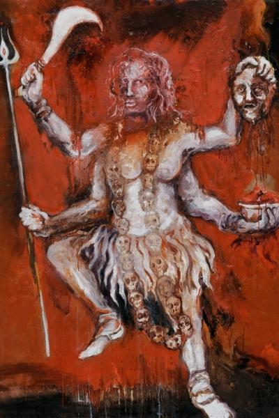 Kali, huile sur toile 97x130 cm, 2011