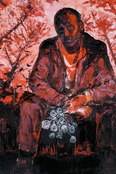 Hot rods, huile sur toile, 150x120 cm, 2011