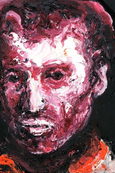 Face, huile sur toile. 22x27 cm, 2011. Collection privée