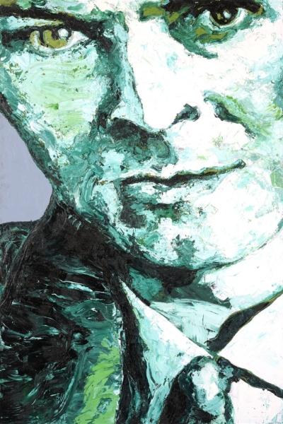 Bowie, huile sur toile 130x197cm, 2007. Collection privée.