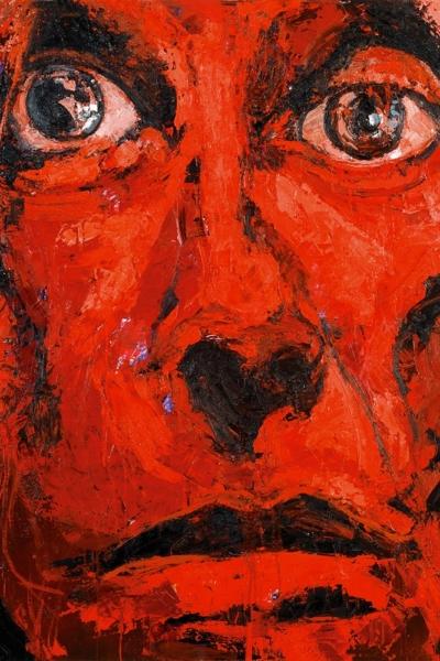 Mister pop, huile sur toile 150x170cm, 2007. Collection privée.