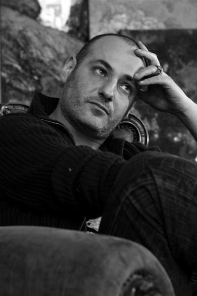 Portrait, atelier Paris, 2008. Photo Michel Lunardelli.
