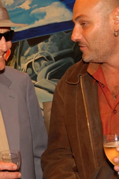 Portrait, Rencontre avec le peintre Jaques Monory, 2007 Photo Michel Lunardelli.