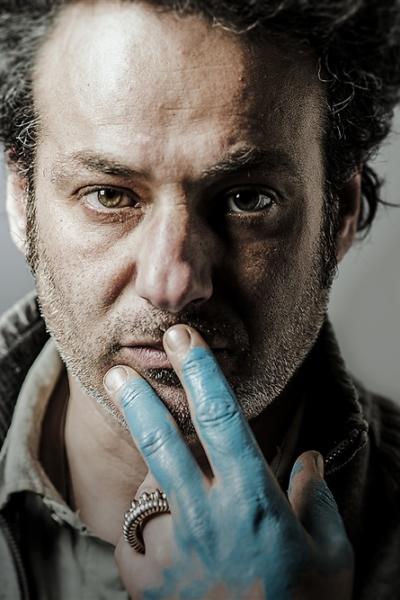 Portrait, atelier S Etienne, 2014. Photo.Laurent D'Oliviera.