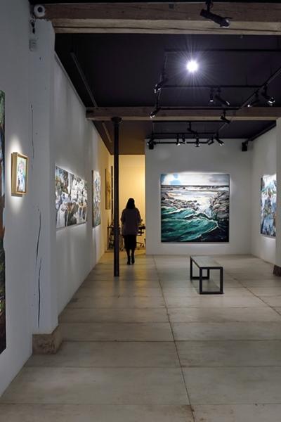 Germination, vue de l'exposition, Lou&Loo Gallery, Paris, 2019.